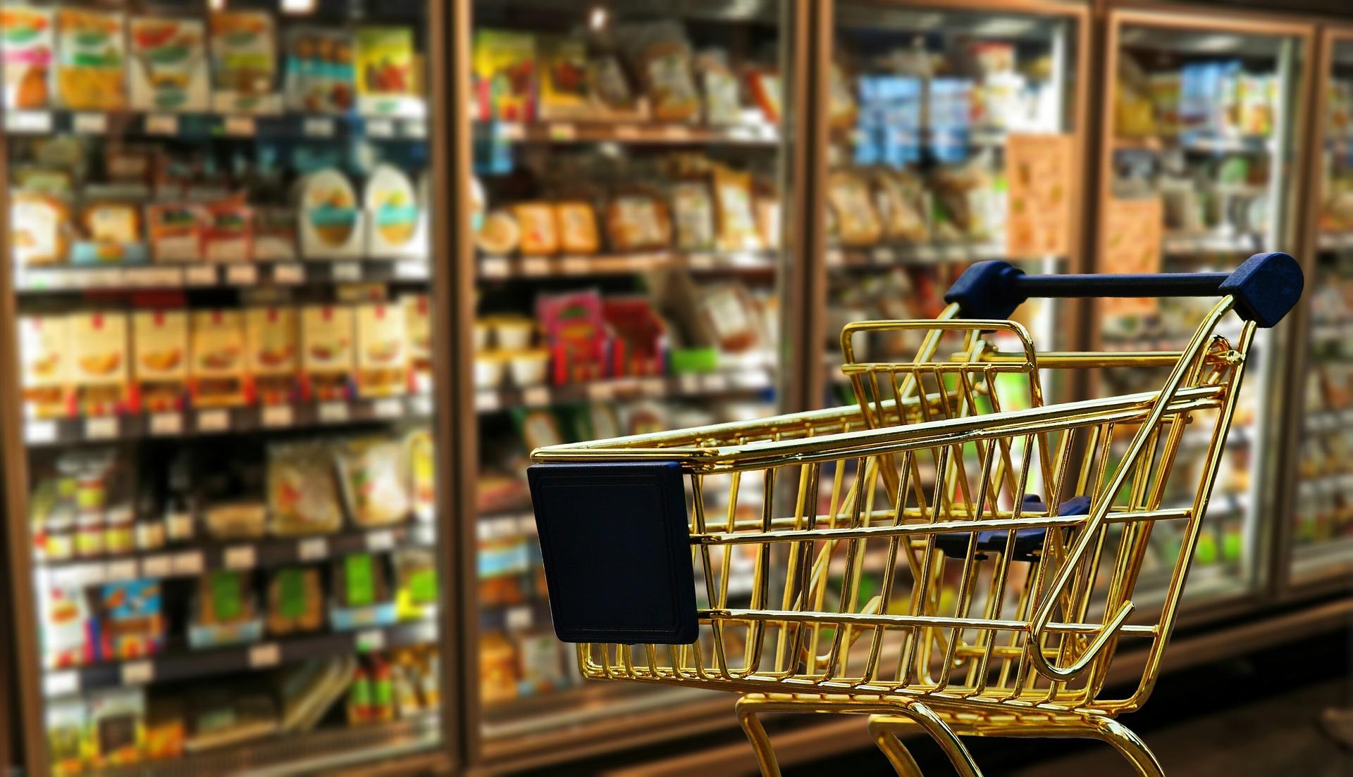 cadie supermarché